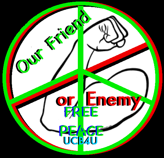 Free Peace No Arm Friend Enemy
